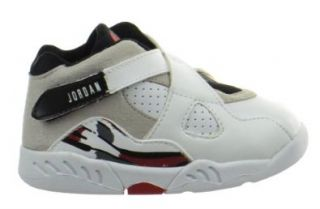 Jordan 8 Retro (TD) Baby Toddlers Shoes White/Black True Red 305360 193 10 Shoes