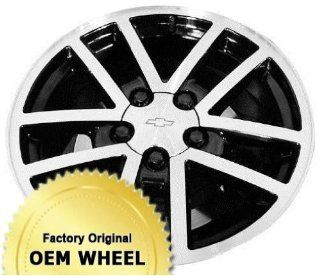 CHEVROLET CAMARO 17x9 10 SPOKE Factory Oem Wheel Rim  MACHINED FACE BLACK   Remanufactured Automotive