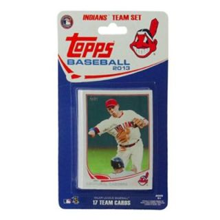 Cleveland Indians 2013 Team Collectible Trading Card Set