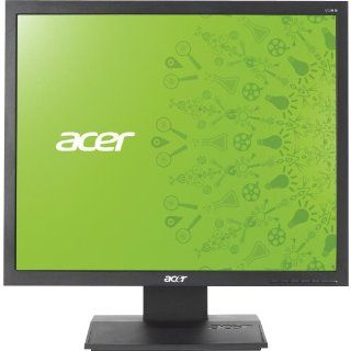 Acer 19IN LED 1280 X 1024 MNTR V193L AJOBD VGA DVI BLK 5MS LCD Flat Panel Computers & Accessories