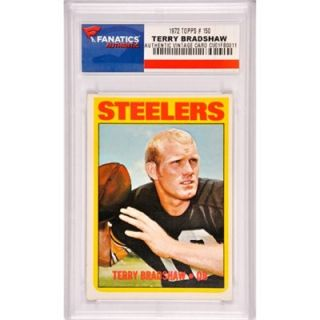 Terry Bradshaw Pittsburgh Steelers 1972 Topps #150 Card
