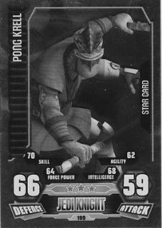 Force Attax Series 3 No. 199 PONG KRELL   STAR CARD Individual Trading Card Toys & Games