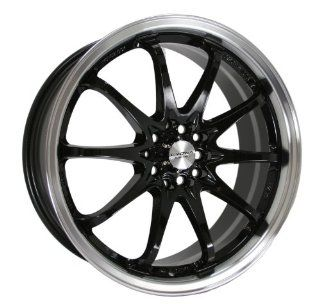 Kyowa Racing Series 206 Black   18 x 7.5 Inch Wheel Automotive