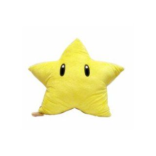 "Super Mario Brothers  Star Starman Plush   13"" Toys & Games"