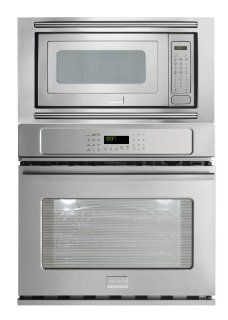 "Frigidaire Professional 30"" Stainless Steel Microwave Wall Oven Combo FPEW3085KF_FPMO209KF_MWTKP30KF Appliances"
