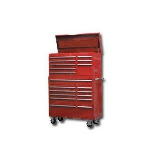 "Mountain (MTN31241R) Red 41"" Top Chest / Cabinet / Side Combo Tool Box"