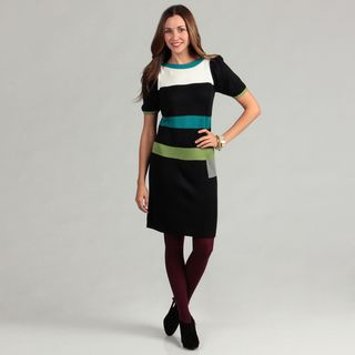 Jessica Howard Women's Colorblock Sweater Dress FINAL SALE Jessica Howard Casual Dresses