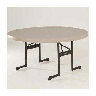 "Lifetime 60"" Round Professional Grade Folding Table"