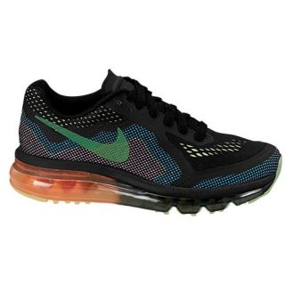 Nike Air Max 2014   Girls Grade School   Running   Shoes   Black/Red Violet/ V Ivid Blue/Volt Ice