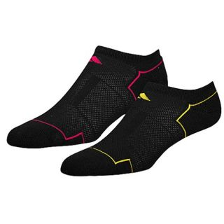 adidas Climacool II 2 Pack Socks   Womens   Training   Accessories   Black/Yellow/Pink