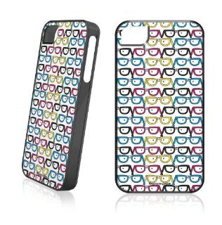 Patterns  David & Goliath Nerd Glasses  LeNu Case for Apple iPhone 4 / 4S Cell Phones & Accessories