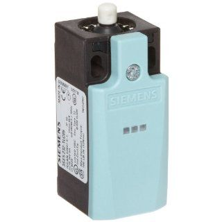 Siemens 3SE5 232 1LC05 Mechanical Position Switch, Complete Unit, Plastic Enclosure, 31mm Width, Rounded Plunger, 1 Yellow LED, 1 Green LED, Snap Action Contacts, 1 NO + 2 NC Contacts, 24VDC LED Voltage