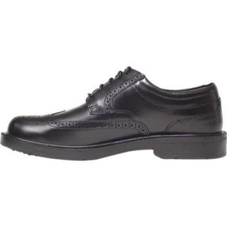 Men's Deer Stags Tribune Black Smooth Deer Stags Oxfords