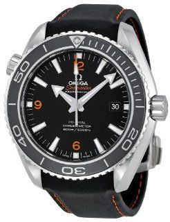 Omega Men's 232.32.46.21.01.005 Seamaster Planet Ocean Black Dial Watch Omega Watches