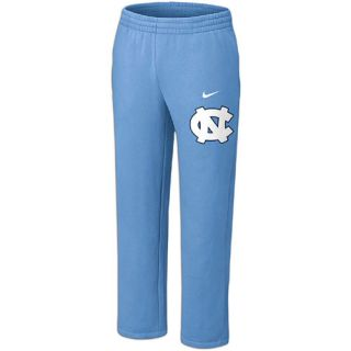 Nike College Classic Fleece Open Hem Pants   Mens   Basketball   Clothing   North Carolina Tar Heels   Light Blue