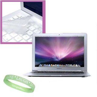 Apple MacBook Air MC234LL/A , MC233LL/A 13.3 Inch Laptop *** Keyboard Skin Cover + Live*Laugh*Love Wrist Band Computers & Accessories
