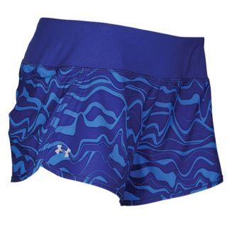 Under Armour Heatgear 3 Stretch Woven Shorts   Womens   Running   Clothing   Purple Rain/Purple Rain