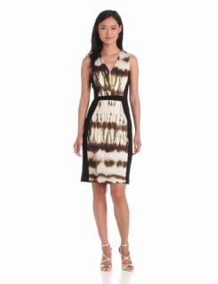 Rachel Roy Collection Women's Marble Tie Dye Denim Dress Clothing