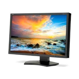 NEC Display P242W BK 24.1 Widescreen LED Monitor 1610 8ms 1920x1200 350 Nit 10001 DisplayPort/DVI/HDMI/VGA/USB Computers & Accessories