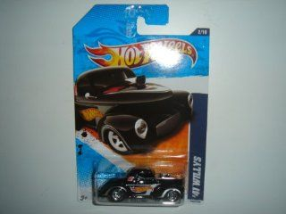 2011 Hot Wheels '41 Willys Black #152/244 Toys & Games