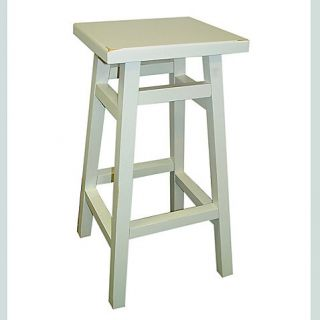 Buy Carolina Chair & Table OMalley 24 Inch Pub Counter Stool in Antique White from