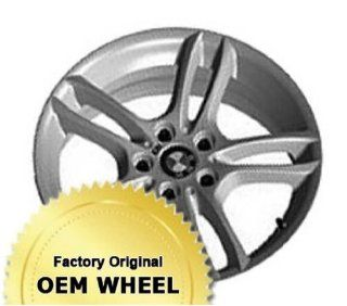BMW 1 Series 18X7.5 5 120 49Mm Offset 5 Double Spokes Front Factory Oem Wheel Rim   Machined Face Grey Finish   Remanufactured Automotive