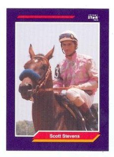 Scott Stevens trading card (Horse Racing) 1992 Jockey Star #253 Collectibles & Fine Art