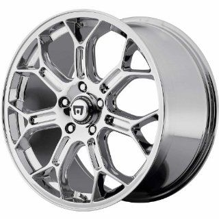 Motegi MR120 19x8.5 Chrome Wheel / Rim 5x4.5 with a 45mm Offset and a 72.60 Hub Bore. Partnumber MR12098512245 Automotive