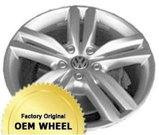VOLKSWAGEN TOUAREG 20x9 5 DOUBLE SPOKE Factory Oem Wheel Rim  HYPER SILVER   Remanufactured Automotive