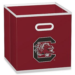 Buy NCAA University of South Carolina Fabric Storage Drawer in Red from