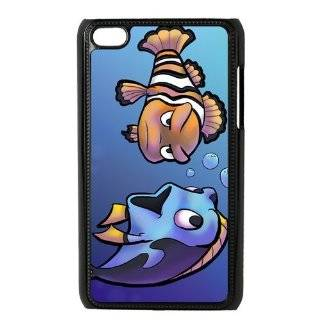 Cartoon Finding Nemo Personalized Music Case Ipod Touch 4th Case Cover for Ipod Touch 4th Generation IT4FN83   Players & Accessories