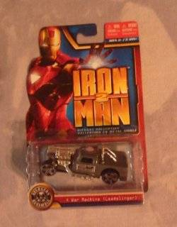 "Marvel IRON MAN 2 Die Cast Collection   ""War Machine"" [Leadslinger] Toys & Games"