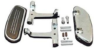 V Factor Chrome Streamliner Styled Passenger Floor Boards Kit Harley Davidson Touring   24000 Automotive