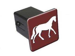 "Horse   2"" Tow Trailer Hitch Cover Plug Insert Truck Pickup RV Automotive"