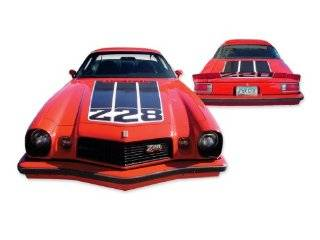 1974 Chevrolet Camaro Z28 Decals & Stripes Kit   MULTICOLOR (Red / White / Blue / Black) Automotive