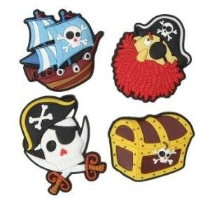 Swift Pirate Fridge Magnets, set of 4   Refrigerator Magnets