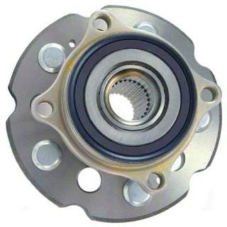 512342 Axle Bearing & Hub Assembly, Acura MDX/ZDX, Honda Pilot, Rear Driven Hub without ABS Automotive