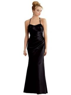 Jessica's Bridal halter Satin Formal Bridesmaid Prom Dress Holiday (20)