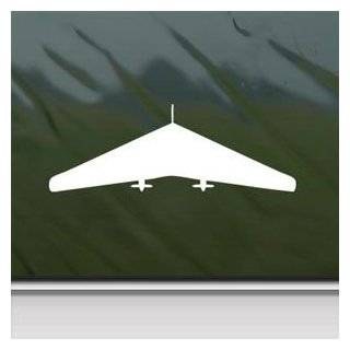 Northrop Xn 9M Flying Wing White Sticker Decal Car Window Wall Macbook Notebook Laptop Sticker Decal