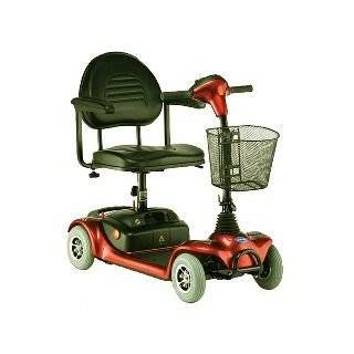 Microportable 4 wheel (Red) Power Scooter Health & Personal Care
