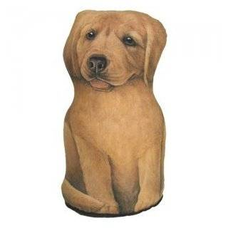 Sculpted Golden Retriever Puppy Doorstop  Door Stops