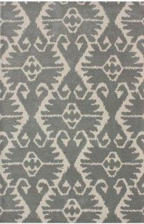 Safavieh WYD323G Wyndham Collection Square Area Rug, 5 Feet, Grey