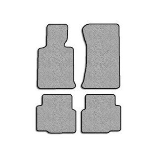 BMW 328i (E36) Touring Carpeted Custom Fit Floor Mats   4 PC Set   Light Gray (1996 1997 1998 96 97 98) Automotive