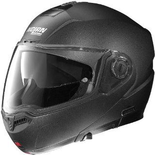 Nolan N104 N Com Solid Helmet , Distinct Name Black Graphite, Primary Color Black, Helmet Type Modular Helmets, Helmet Category Street, Size 2XL, Gender Mens/Unisex N145270330078 Automotive