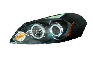 2006 2008 Chevy Impala/monte carlo Projector Headlights Halo Black Clear Amber(ccfl) Automotive