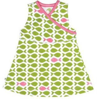 Kiwi Organic Baby Girls 6m 4T Jumper Dress Kiwi Fish Clothing