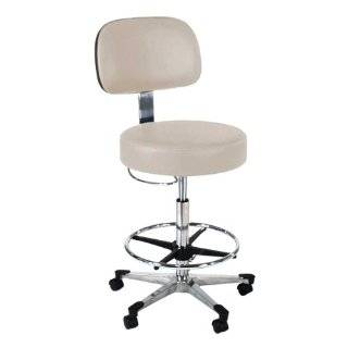 Intensa 872 Lab Stool with Aluminum Base and Toe Caps   Step Stools