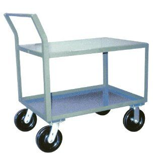 Jamco Products SW348 P8 GP 30 Inch by 48 Inch 4800 Pound Capacity Offset Handle Low Profile Cart
