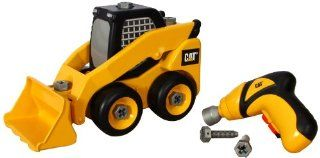 Toystate Caterpillar Construction Take A Part Trucks Skid Steer Toys & Games