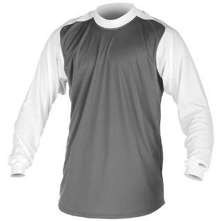 Rawlings Youth Mock Turtleneck Long Sleeve LRMT Shirt  Baseball And Softball Jerseys  Clothing